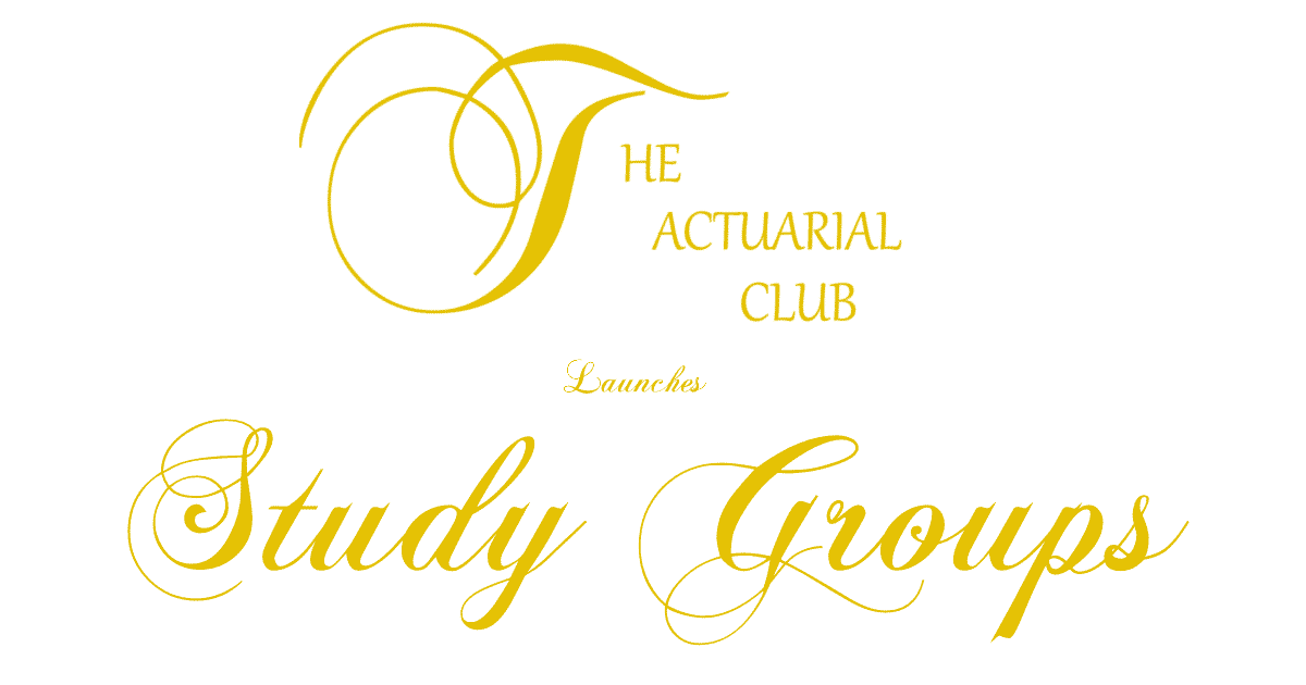 actuarial study groups