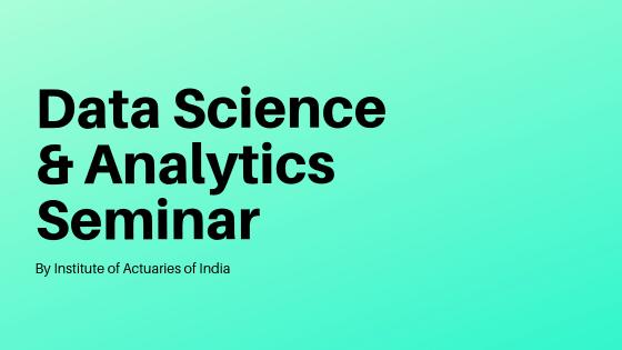 Data Science & Analytics Seminar